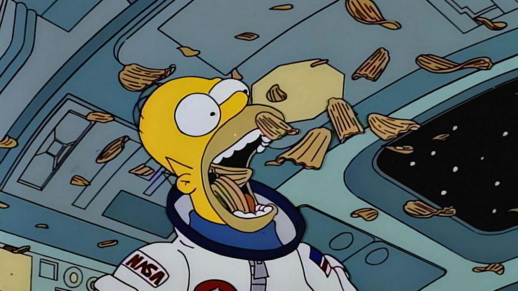 Homer Simpson y su Carta Natal