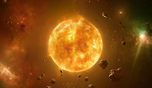 El Sol Progresado en los Signos
