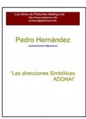 pedro hernandez-LAS DIRECCIONES SIMBOLICAS