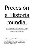 PRECESIÓN E HISTORIA MUNDIAL