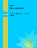 MANUAL DE ASTROLOGÍA – AMÈRICO