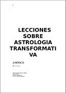 lecciones sobre astrologia transformativa Americo