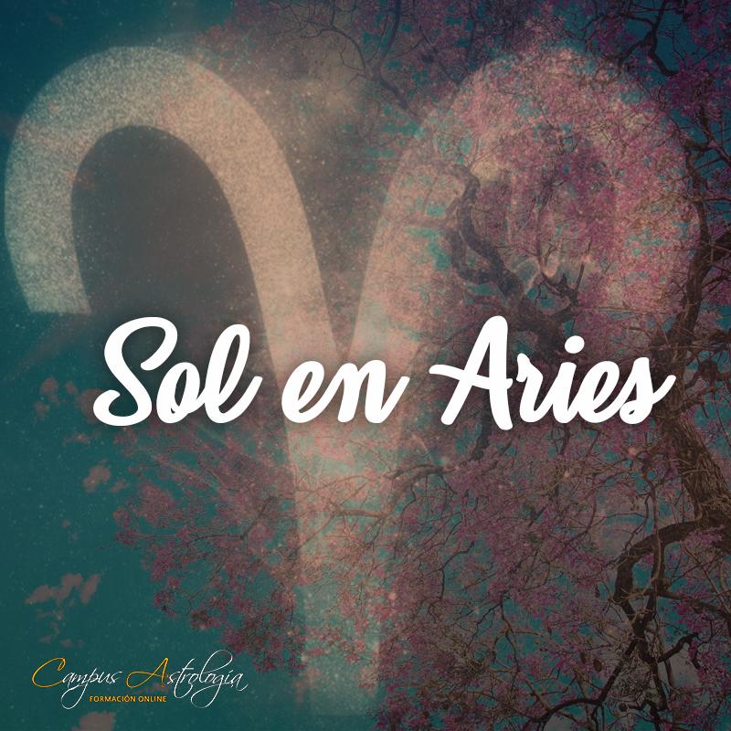 Sol en Aries