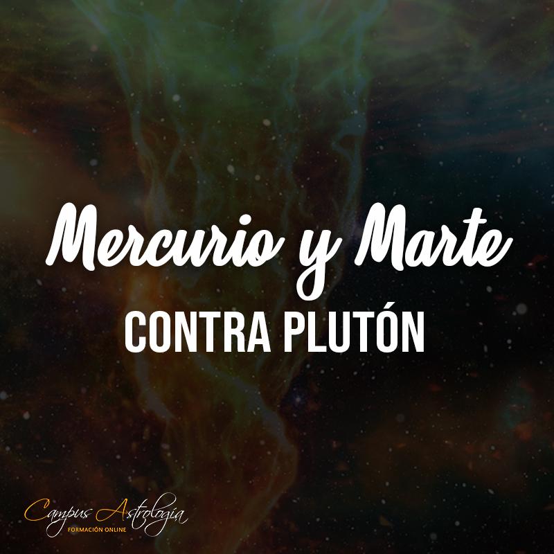 Mercurio y Marte contra Plutón