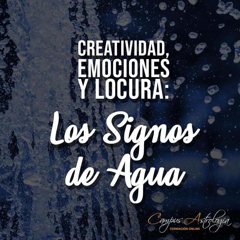 Creatividad, Emociones y Locura: Los Signos de Agua