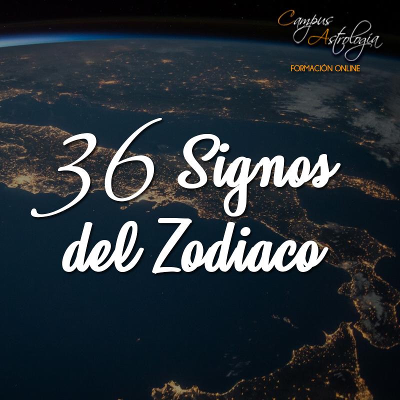 36 Signos del Zodiaco: Máster en Decanatos
