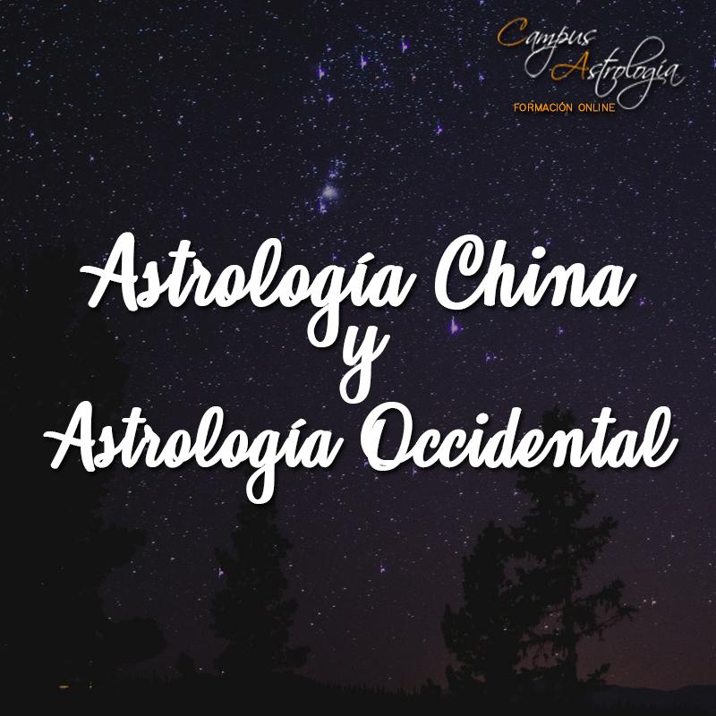 Astrología China y Astrología Occidental