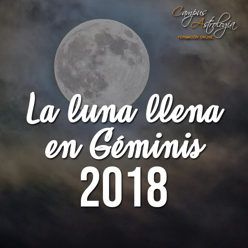 Luna Llena en Géminis 2018