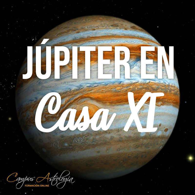 Júpiter en Casa 11: Amigos muchos, y locos