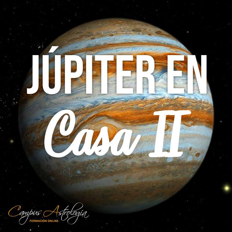 Júpiter en Casa 2: Mucho gano, Mucho gasto