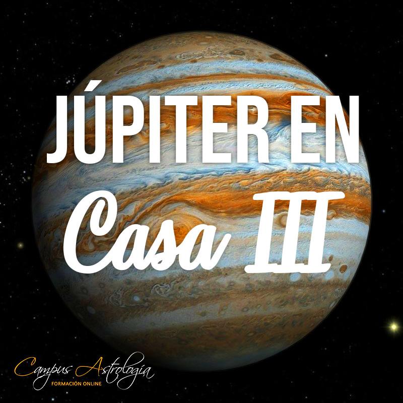 Júpiter en Casa 3: Hablo, entonces río