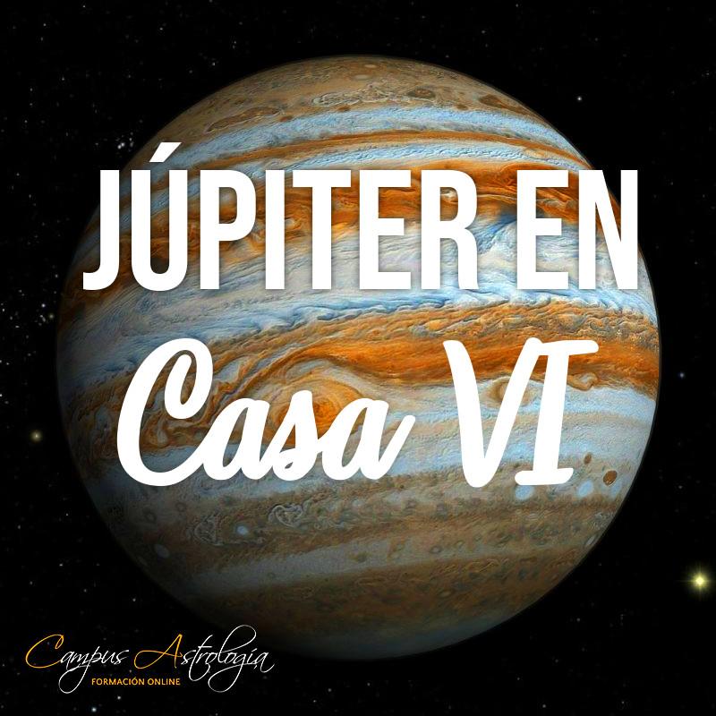 Júpiter en Casa 6: Trabajo fácil