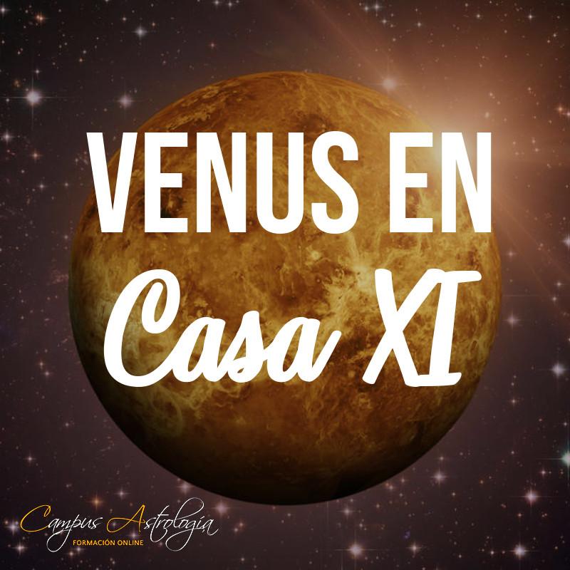 Venus en Casa 11: Enamorada de un Amigo