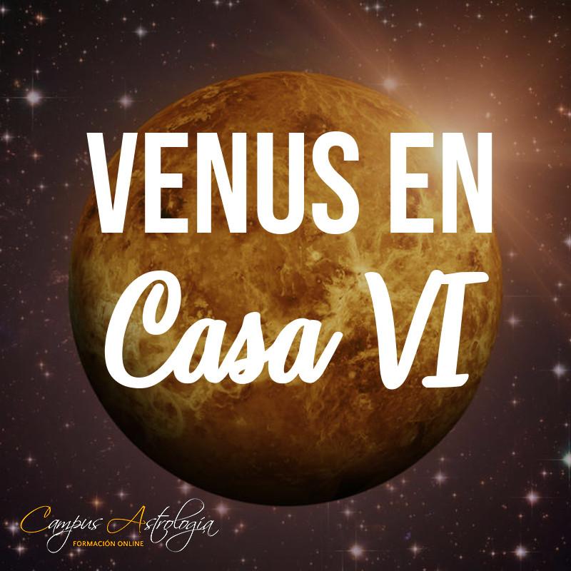 Venus en Casa 6: Un Trabajo que me guste