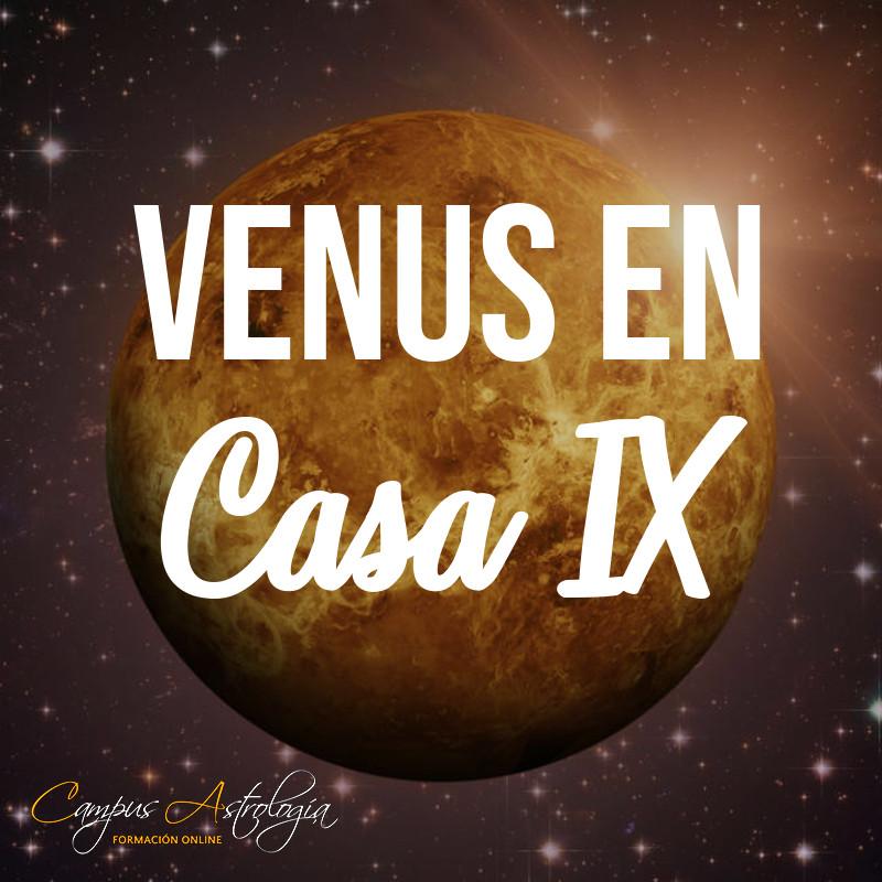 Venus en Casa 9: Enamorada del Profesor