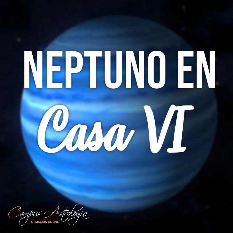"""Neptuno en Casa 6: """"Tengo madera de Terapeuta"""""""