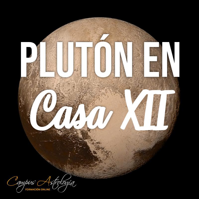 Plutón en Casa 12