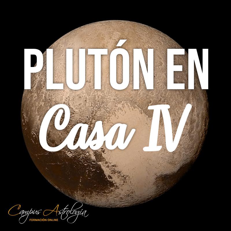 Plutón en Casa 4