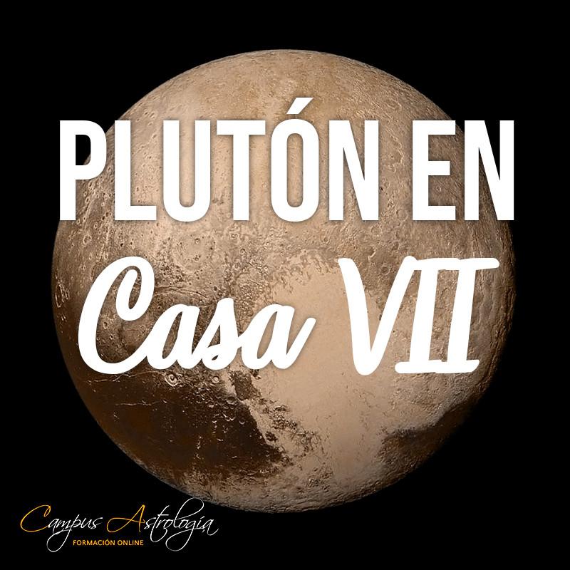 Plutón en Casa 7