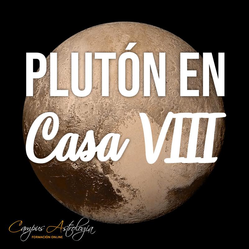 Plutón en Casa 8