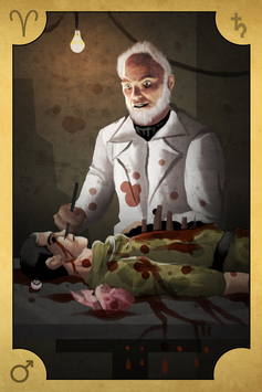 Saturno en Aries, ¿Médico forense, o Médico torturador?